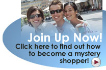 be a secret shopper